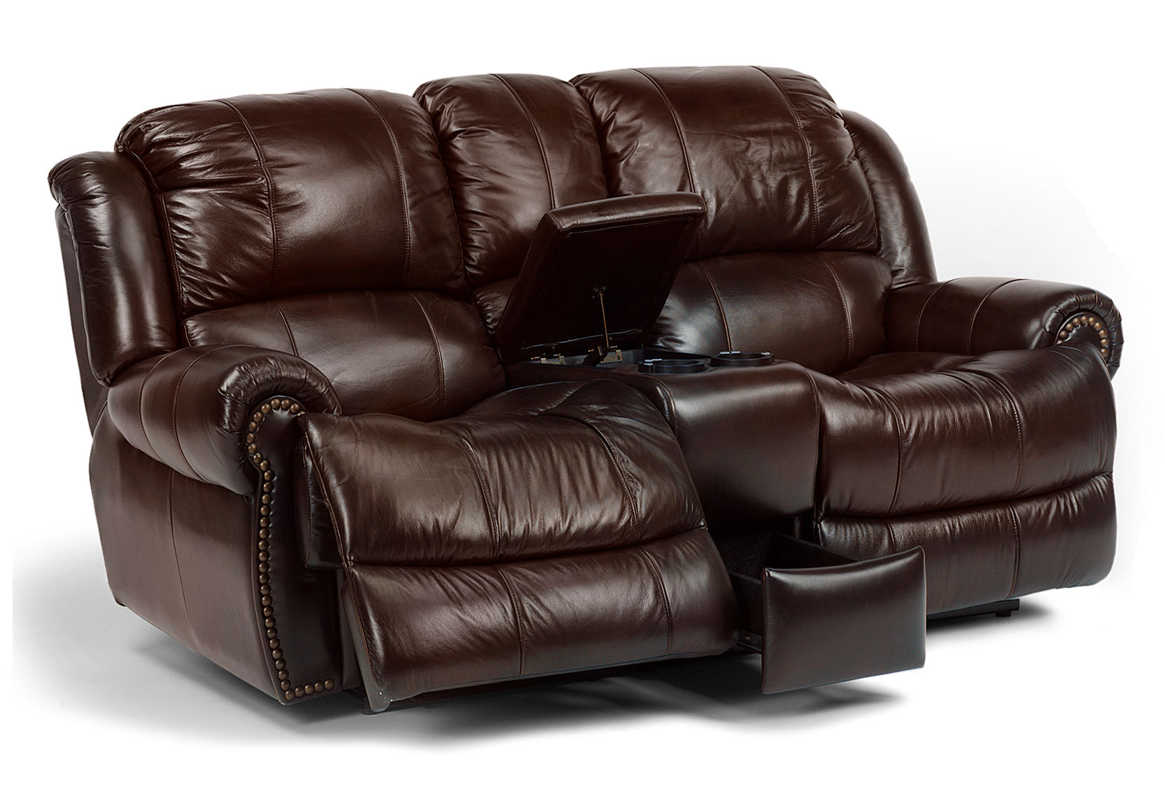 If you re looking for flexsteel be sure to check our prices joel jones home furnishings Leather loveseat recliners