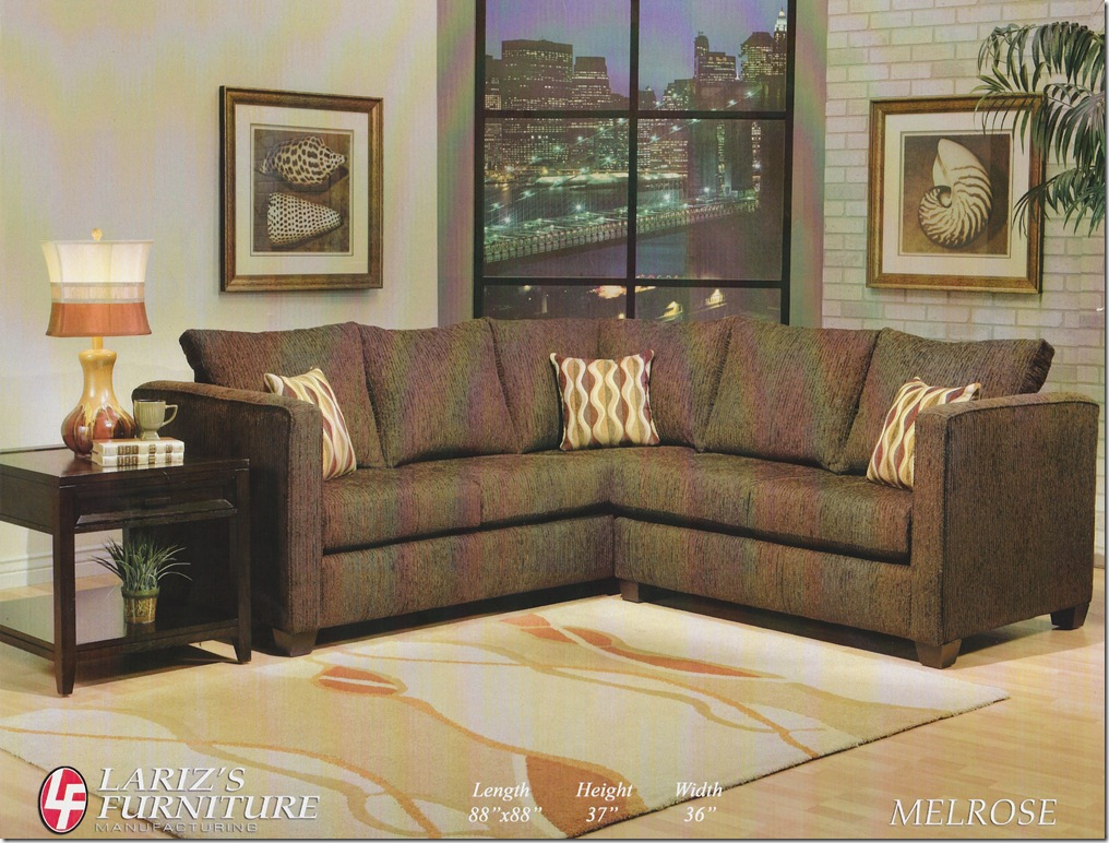 LARIZ'S MELROSE SECTIONAL