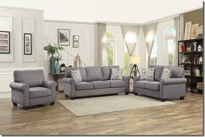 99gray sofa love chair