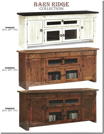 Barn Ridge 65 inch tv consoles-1