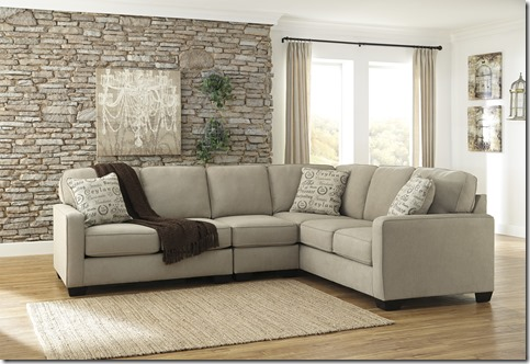 ALICIA 3 PC SECTIONAL QUARTZ