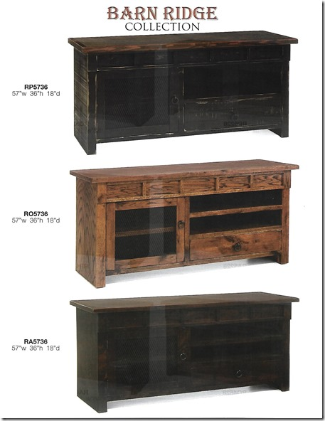 Barn Ridge 57 inch tv consoles-1