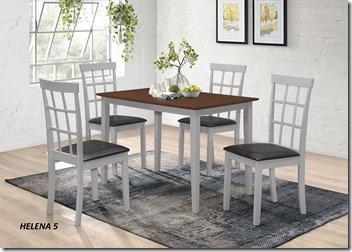 COM2 Helena 1 4 Dining set