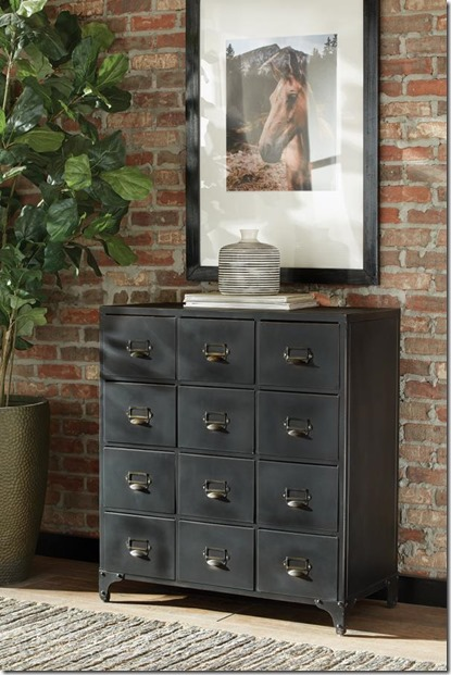 558059 chest w 12 drawers