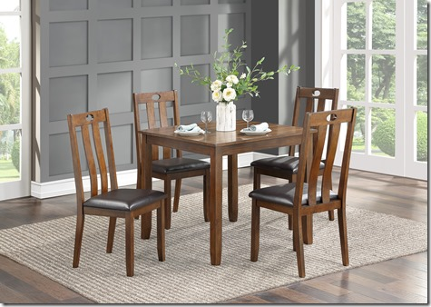 6475 5 pc 36 x 36 table